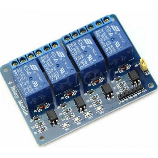 4 Channel 5V Relay Module