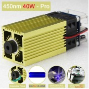 Laser Module - 40W - PRO - 450Nm + Adapter + Goggles