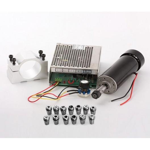 CNC Spindle Motor 500W Bundle