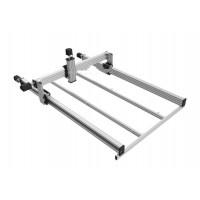 Lead CNC Mechanical Frame 1000x1000mm Open Source