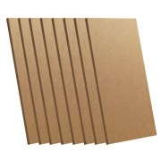 CNC Material MDF Board | 175 x 100 x 5mm - 8 Piece Pack