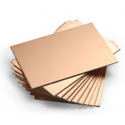 CNC Material FR4 Double Layer PCB | 100 x 70 x 1.5mm - 10 Piece Pack