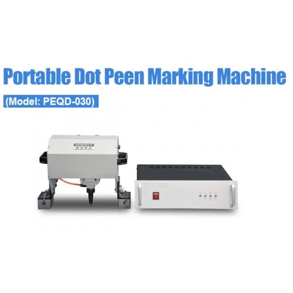 Dot Peen Metal Marking Machine - Portable - PEQD-030
