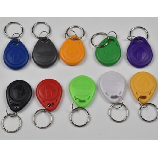 RFID Tags Writable-Rewritable Keys- 125Khz Card Access - 10 Piece