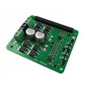 10Amp 6V-24V DC Motor Driver HAT for RPI (2 Channels)