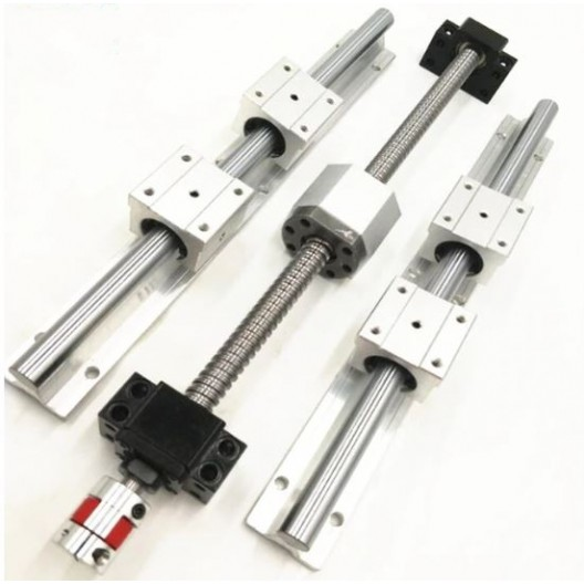 CNC Linear Rail Set - SBR16 1000mm+Ball Screws SFU1605