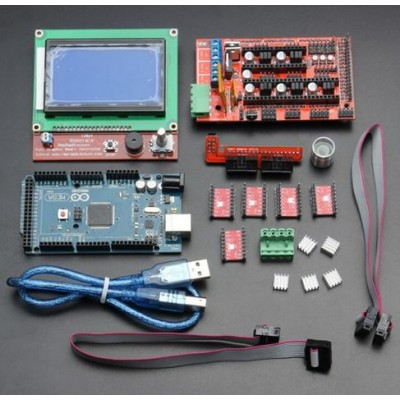 Stepper Driver Kit Mega 2560 R3 + RAMPS 1.4 + 5 A4988 Stepper Driver Modules+Printer Kit