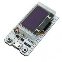 ESP32 Dev Board + SX1278 + 0.96 inch Blue OLED Display