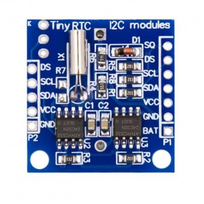 Tiny RTC I2C Module DS1307 Clock - High Precision Clock Timer Module