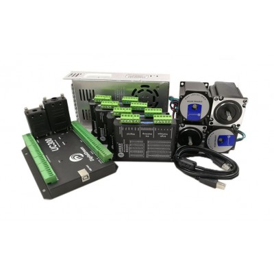 Stepper Motor Kit - 4 Axis + UC300 Controller