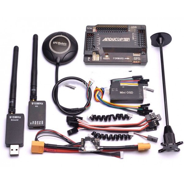 APM 2.8 Flight Controller Kit + GPS Antenna + Telemetry