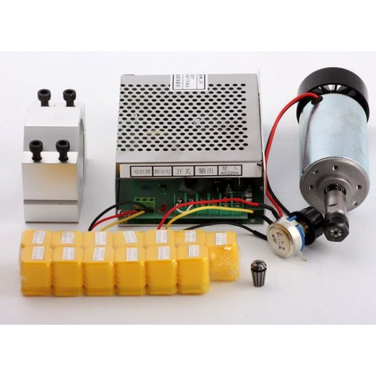 CNC Spindle Motor 300W Bundle