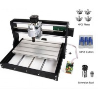 CNC Router Milling Engraver Machine DIY 3018 PRO + Laser Module 2500MW with ER11