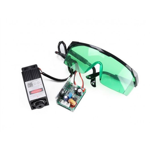 Laser Module - 5500mw - 450Nm + Goggles