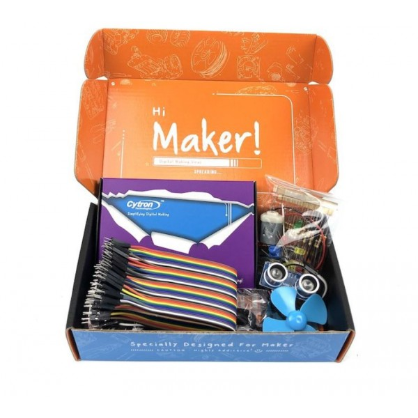 Maker UNO X Learning Box Kit - School Bundle