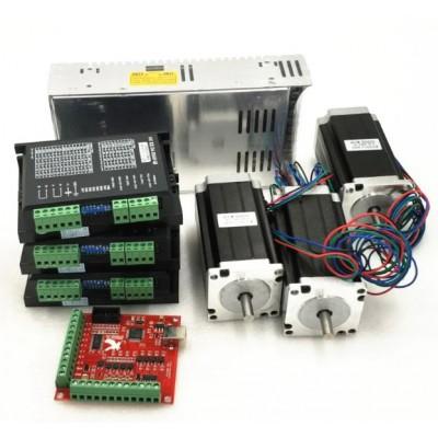 Stepper Motor NEMA 23 - 3 Axis CNC Router Kit