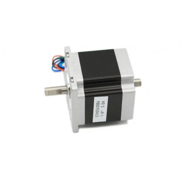 Stepper Motor - Nema 23 Dual Shaft - 57x56 - 3A 1.26Nm double shaft 180Oz-in for CNC & 3D Printer