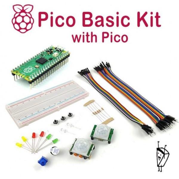 Raspberry Pi Pico Basic Kit - with Pico Board