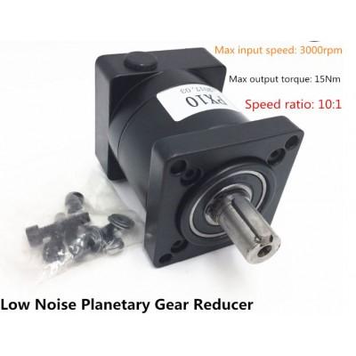 Planetary Gearbox Reducer 3000RPM - 10:1 High Precision - NEMA 23