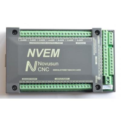 Stepper Motor 6 Axis CNC Control Card - MACH3/Ethernet