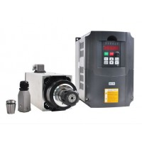 CNC Spindle Motor Air Cooled 4KW Kit