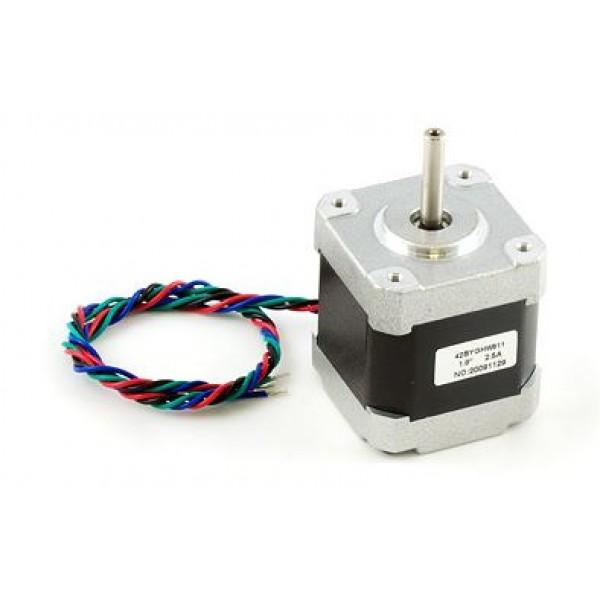 Stepper motor - NEMA-17 - 0.9°/degree.
