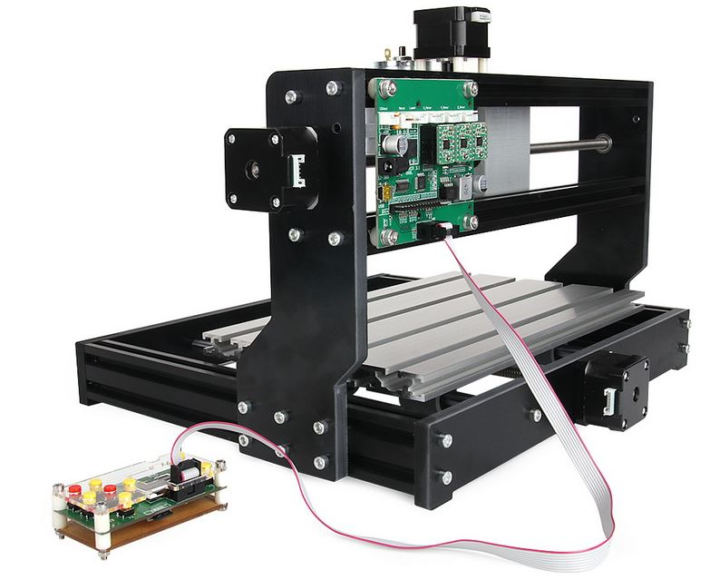 Cnc Router Milling Engraver Machine Diy 3018 Pro Laser
