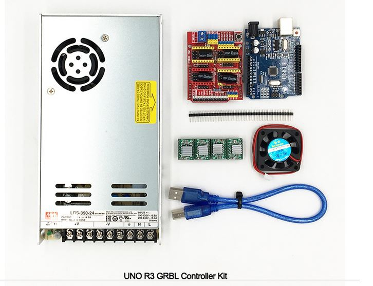Metalwork Equipment - GRBL Controller Kit for CNC - CNC Router / CNC