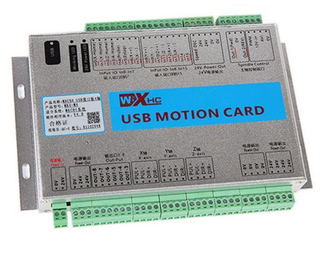MK4-M4 USB CNC Controller MACH4 CNC Motion Control Card